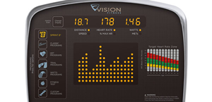 Vision Fitness S60 Console
