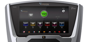 Vision Fitness Touch Console Treadmill