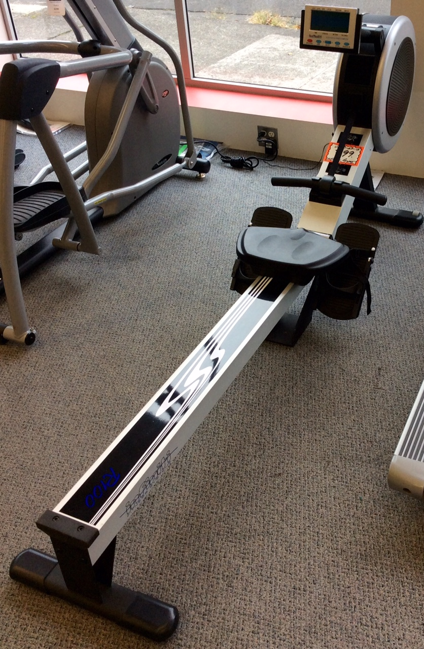Infinity rowing machine