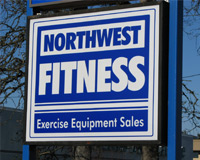 Northwest Fitness Sign